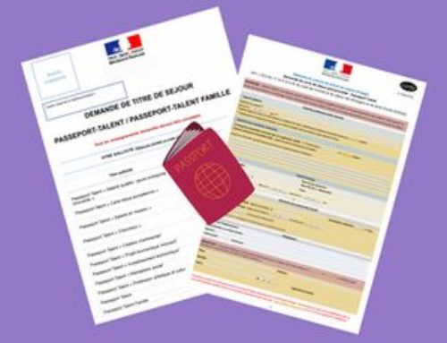 """FRENCH RESIDENCE PERMIT """"PASSPORT-TALENT"""""""