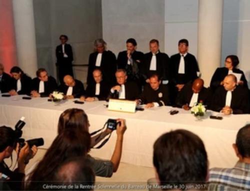 Cérémonie de signature de la Déclaration Universelle des Droits de l'Homme